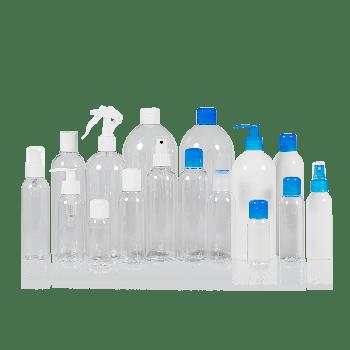 Basic Round flacon PET transparent