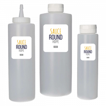 Sauce Flacon HDPE naturel