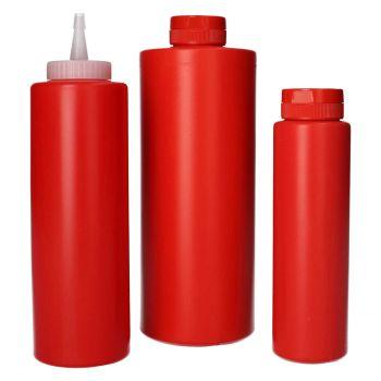Sauce Flacon HDPE Rouge