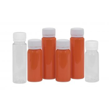 Juice mini shot PET Transparent