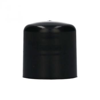 Bouchon à visser 100% Recyclagé PP noir 24.410