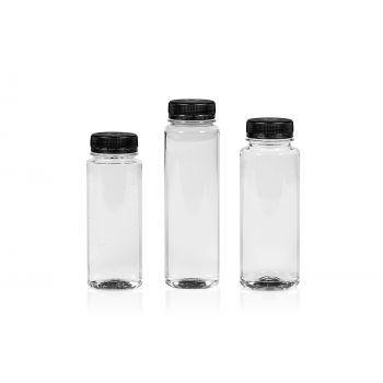 Juice Straight flacon PET transparent